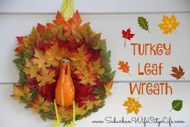 Turkey Leaf Wreath