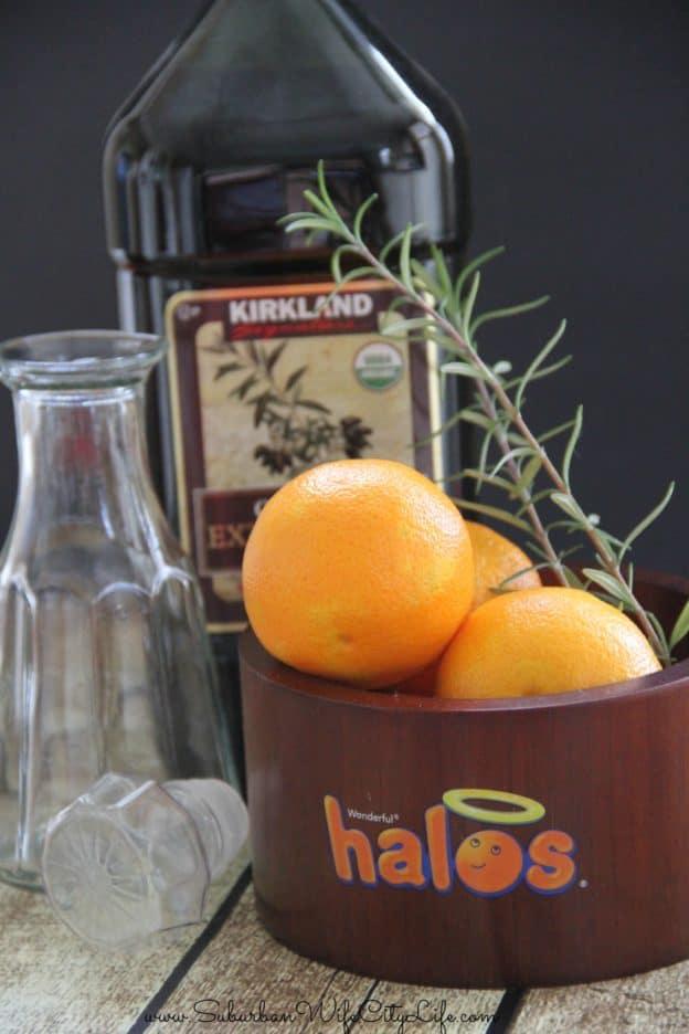 Halos Rosemary Mandarin Salad Oil