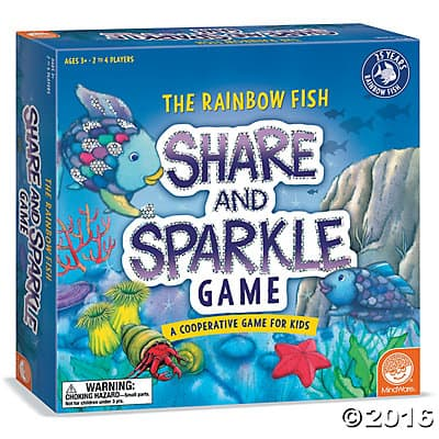 Rainbow Fish Share and Sprakle Game