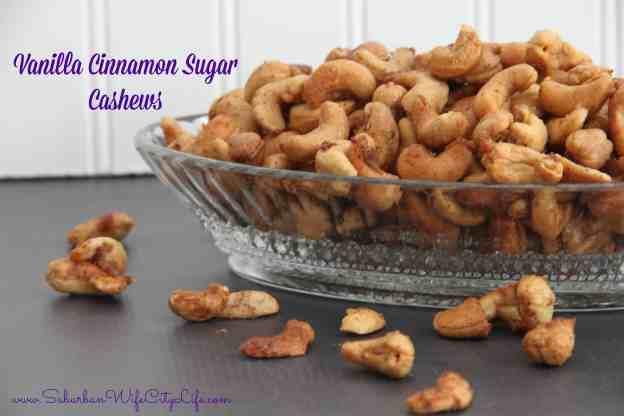 Vanilla Cinnamon Sugar Cashews