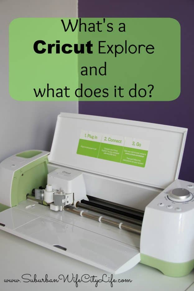 What's a Cricut Explore and What does it do