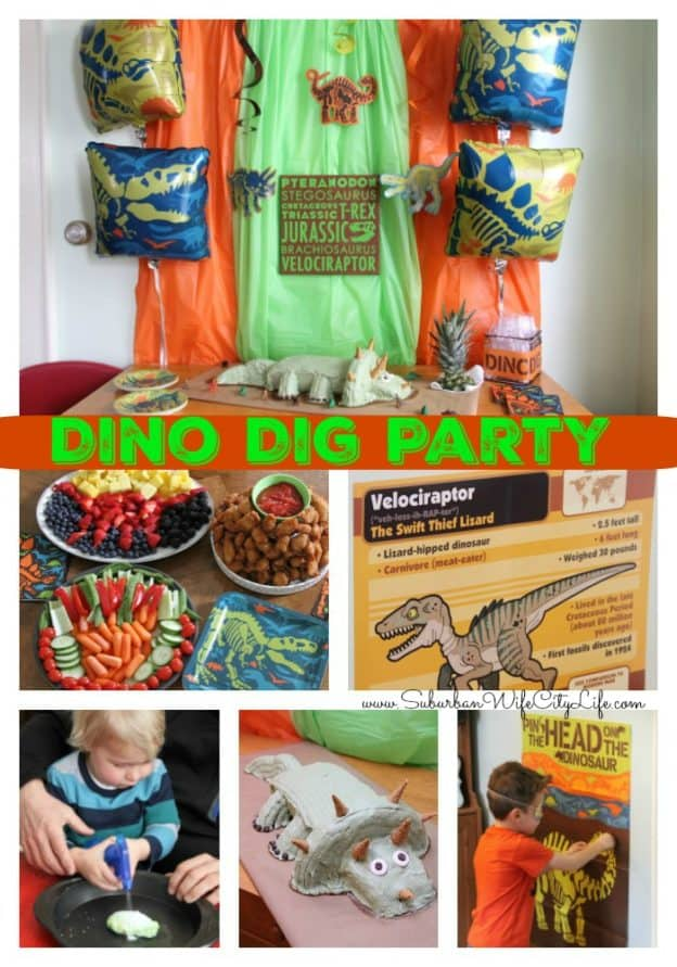Dino Dig Party Ideas