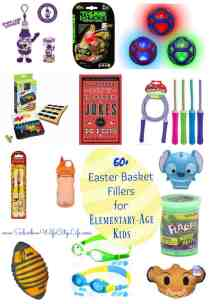 Easter Basket Fillers for Elementary Age Kids