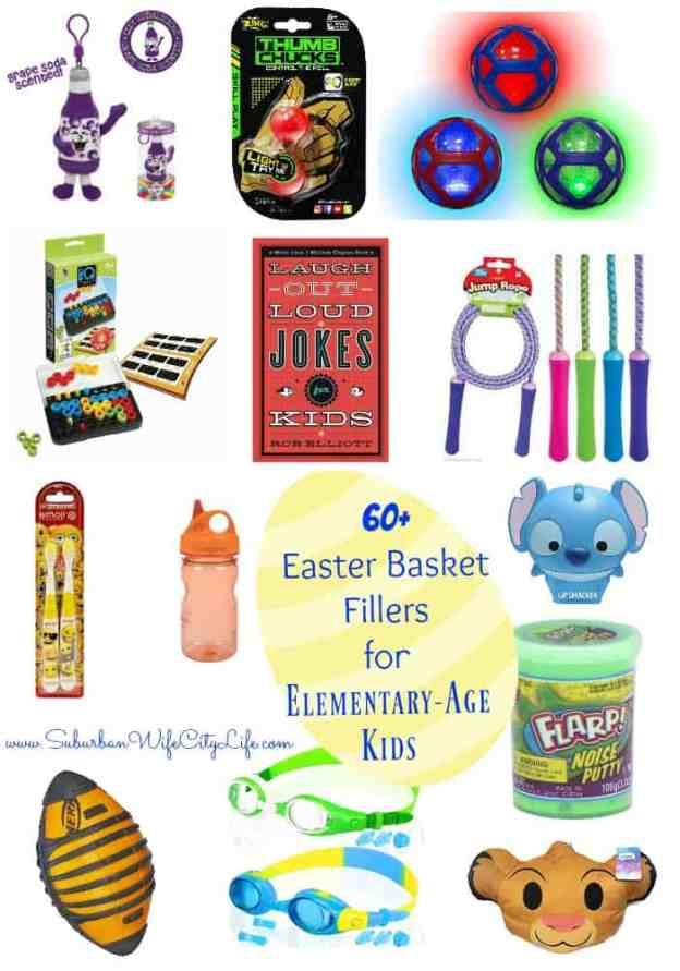 Easter Basket Fillers for Elementary Age Kids
