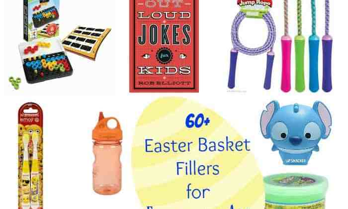 60+ Easter Basket Fillers for Elementary-Age Kids