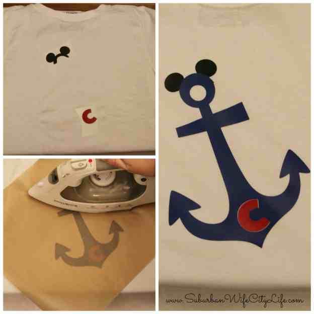 Disney Cruise Family Shirts Iron-on