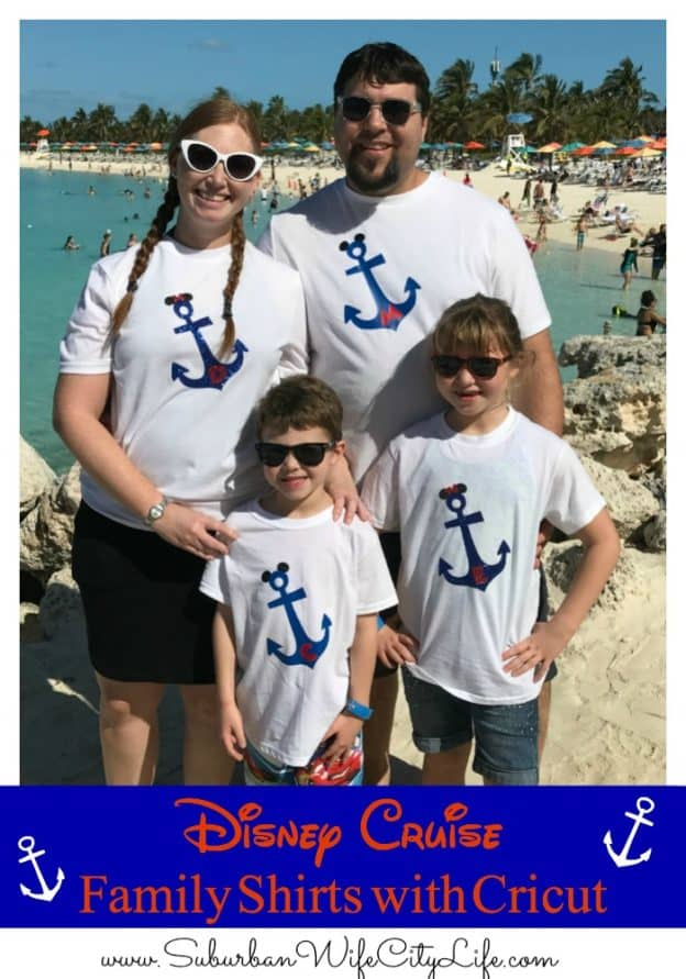 Disney Cruise Family Shirts With Cricut Suburban Wife City Life