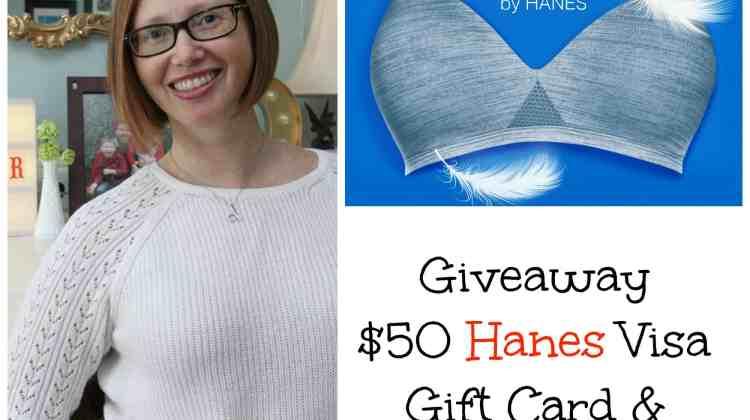 Hanes & a Haircut -Plus Giveaway