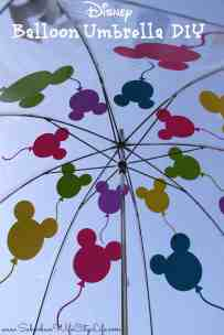 Disney Balloon Umbrella
