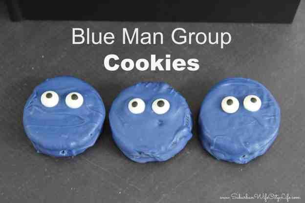 Blue Man Group Cookies