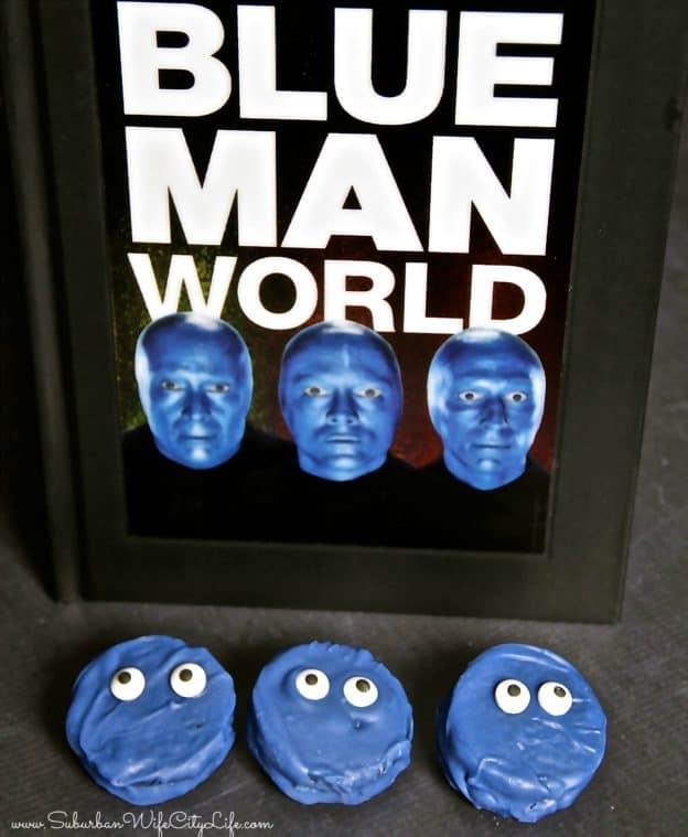 Blue Man Group Cookies DIY