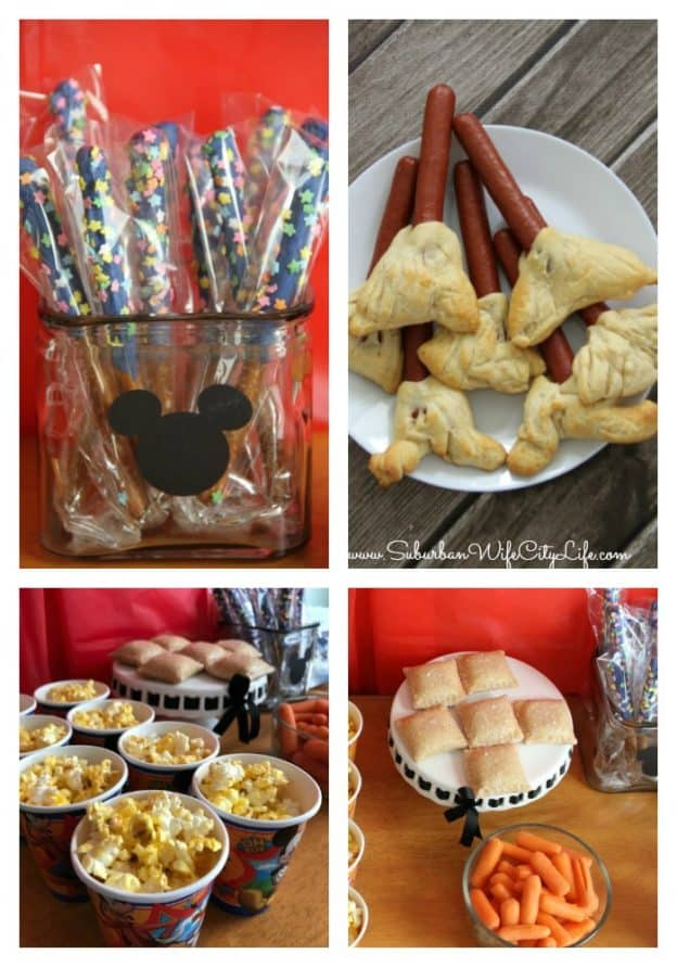 DisneyKids Magical Playdate food ideas