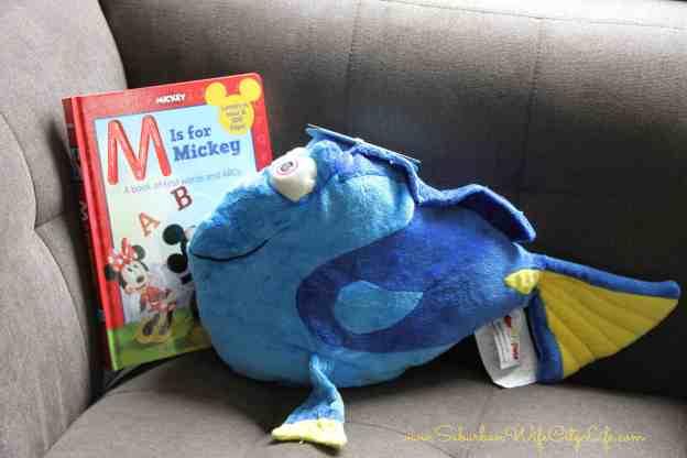 DisneyKids Pillowpet reading nook