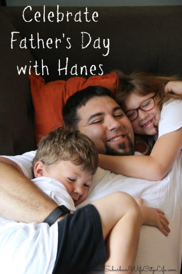 Celebrate Father's Day with Hanes & Giveaway #HappyInHanes