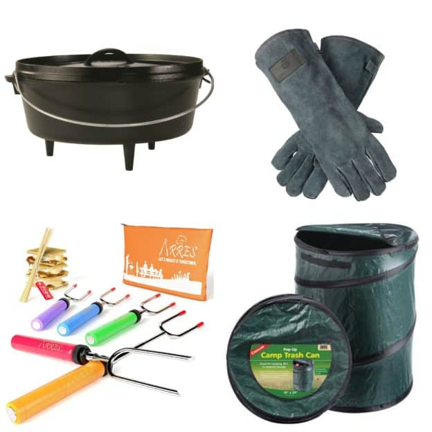 Family Camping Cooking Supplies