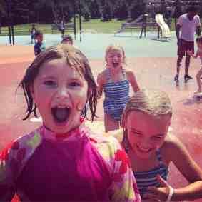 Ponderosa Farm Park Splash Pad