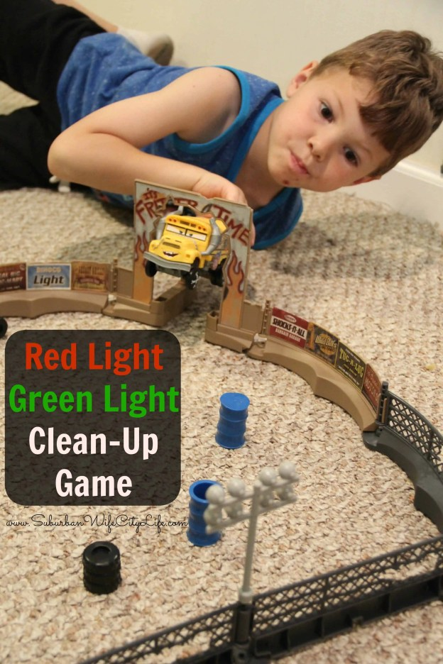 Red Light Green Light Clean-up Game #UltimatePitStop