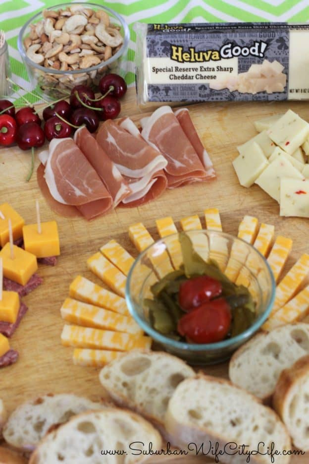Cheese Plate Ideas & Heluva Good!® Cheese Plate - Suburban Wife City Life