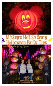 Mickey's Not So Scary Halloween Party Tips