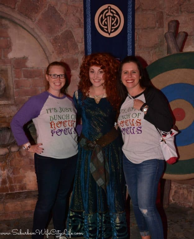 Merida at Disney World