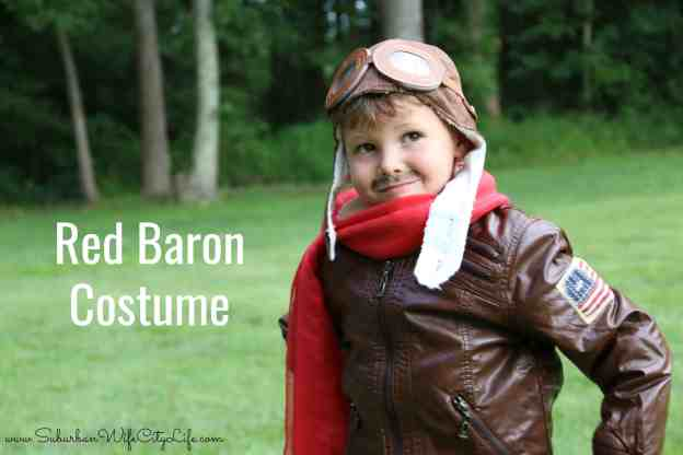 Red Baron costume for kids