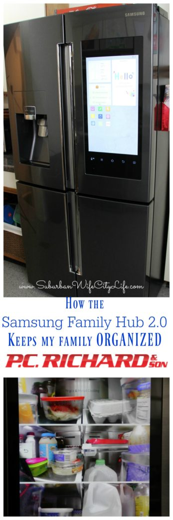 how the samsung family hub 2 0 fridge keeps our family. Black Bedroom Furniture Sets. Home Design Ideas