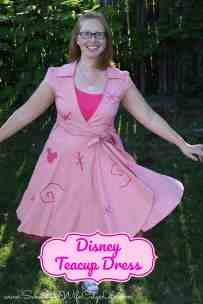 Disney Teacup Dress DIY