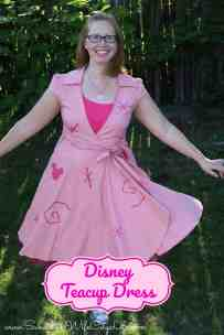 Disney Teacup Dress DisneyBound