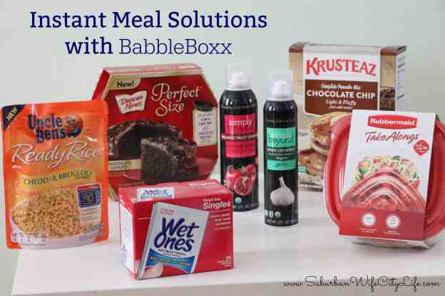 Instant Meal Solutions with BabbleBoxx