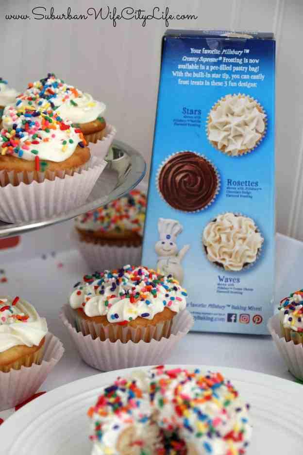 Surprise cupcakes 3 different designs