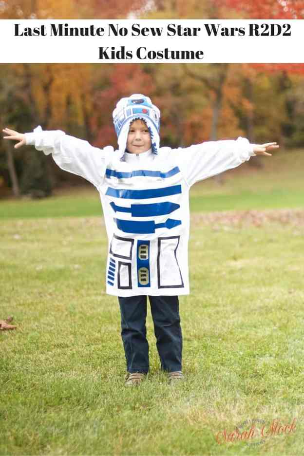 Last-Minute-No-Sew-Star-Wars-R2D2-Kids-Costume-Savoring the good