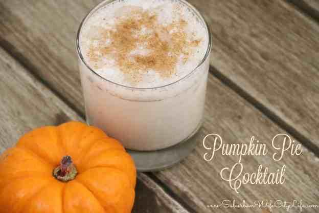 Pumpkin Pie cocktail recipe