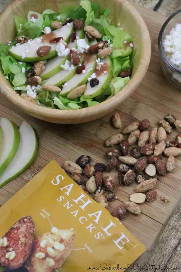 Sahale Snacks Pear & Goat Cheese Salad