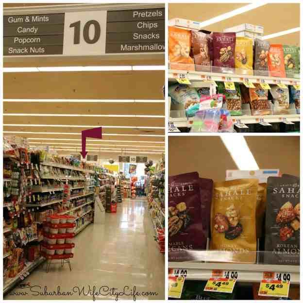 Sahale Snacks at Stop & Shop