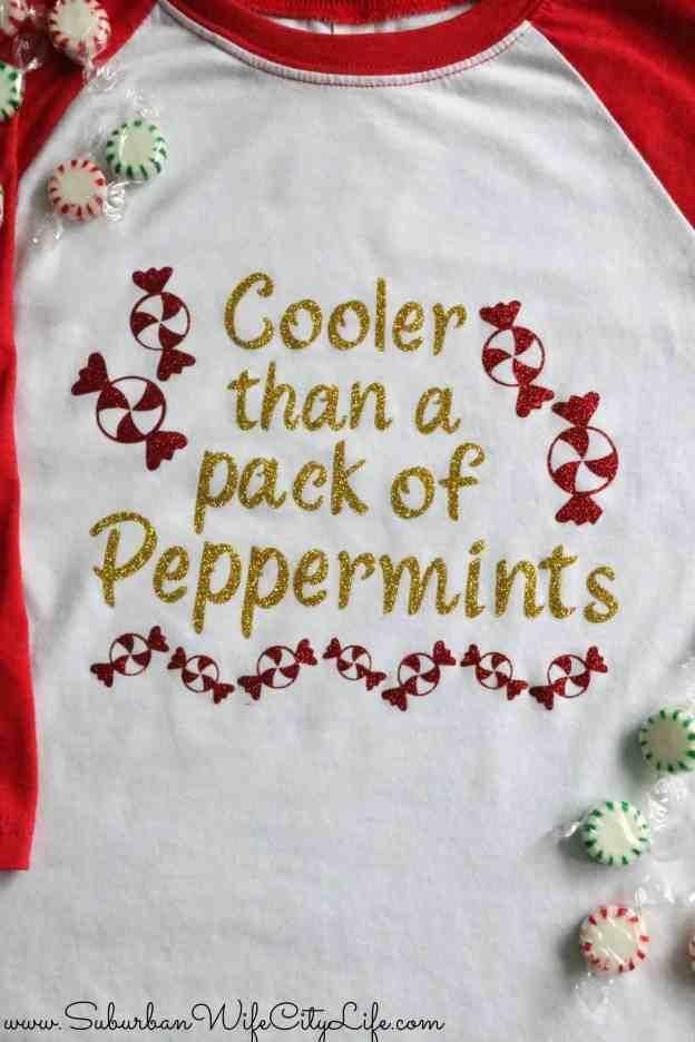 Cool Christmas Shirt for Kids #CricutMade