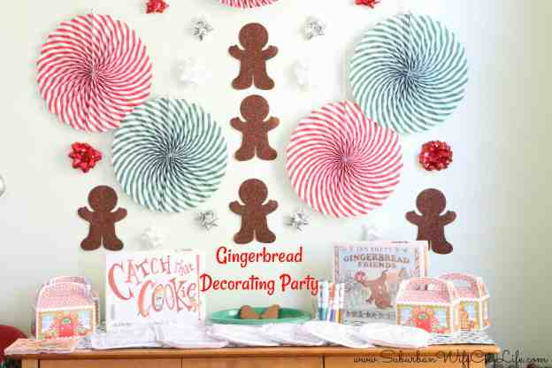 Gingerbread Decorating Party Ideas