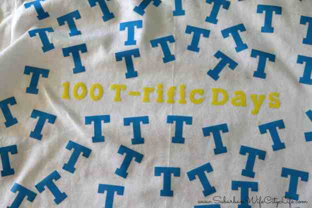 100 T-rific Days Shirt