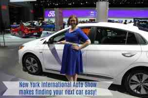 New York Auto Show makes finding your next car easy