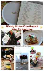 Palo Brunch Disney Cruise