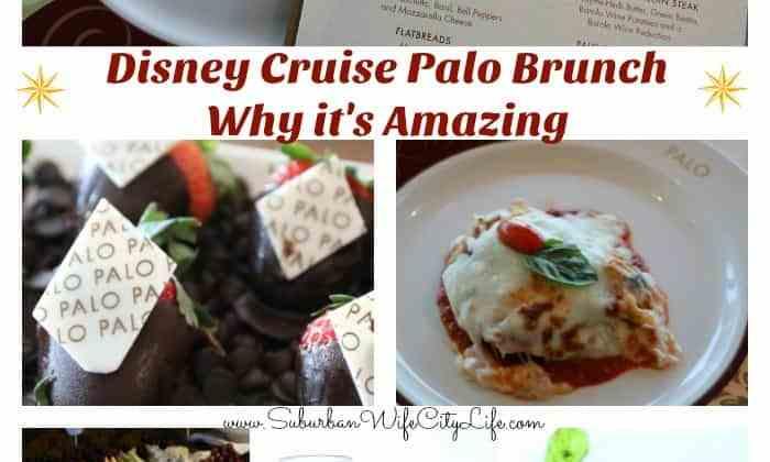 Disney Cruise Palo Brunch & Why it's Amazing