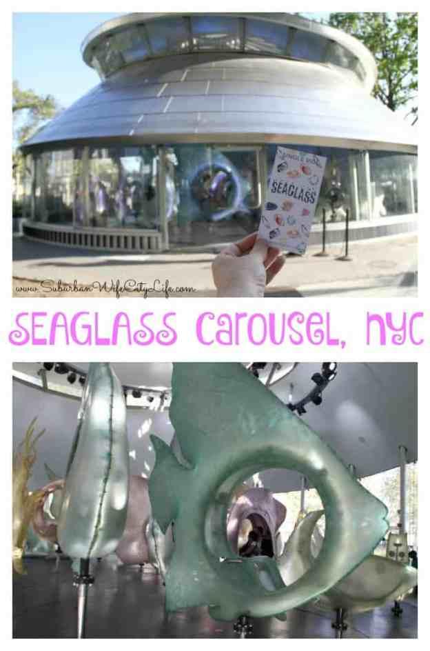 SeaGlass Carousel in NYC