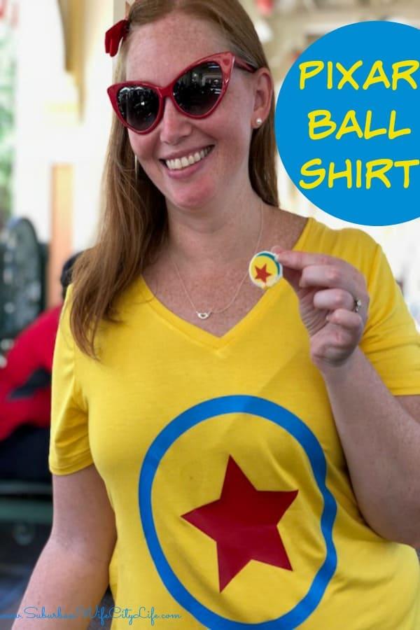 Pixar Ball Shirt #cricutmade