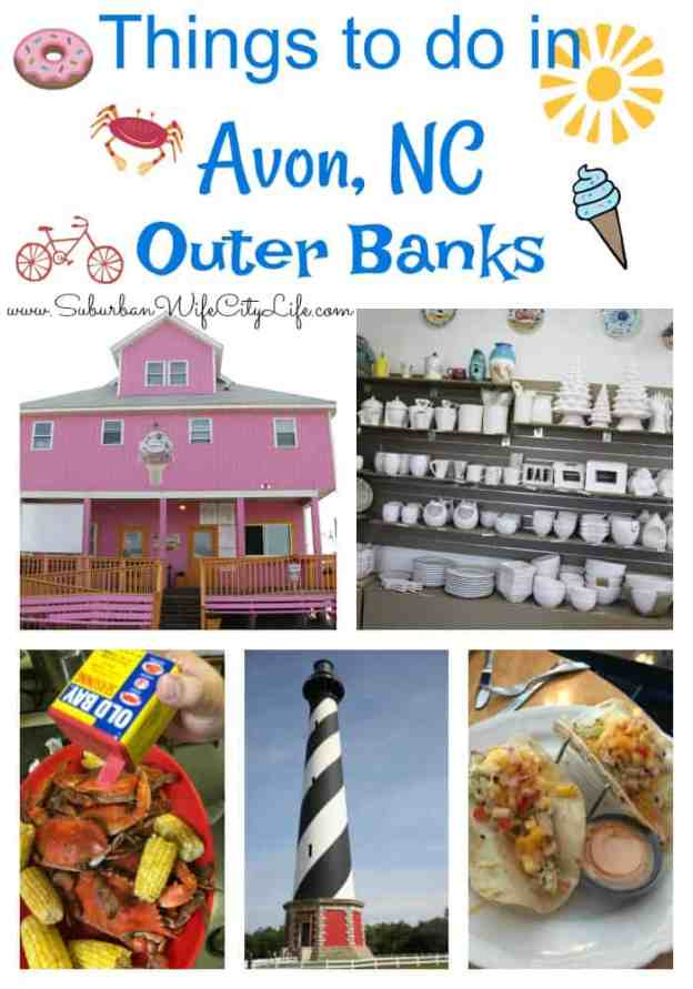 Things to do in Avon, NC Outer Banks #OBX