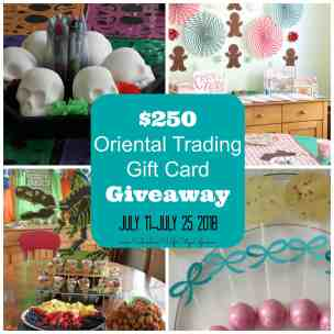 Oriental Trading has it all! $250 Giveaway