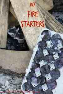 DIY- Fire Starters