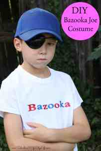 Bazooka Joe Costume DIY