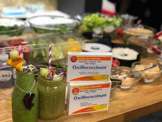 Boiron Oscillococcinum & Immune Boosting Smoothies