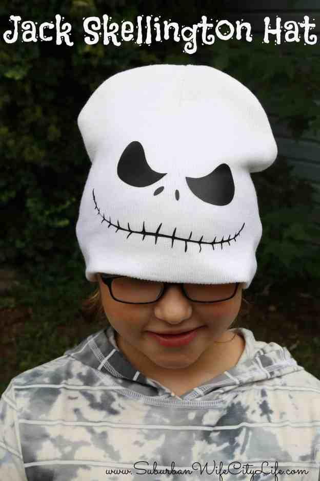 Jack Skellington Hat #CricutMade