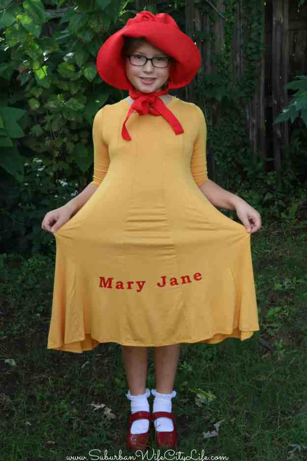 Mary Jane Costume DIY