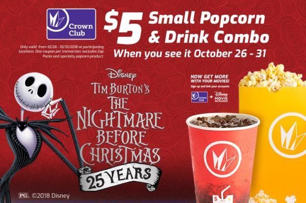 Nightmare Before Christmas 25th Movie